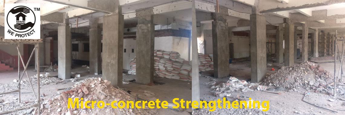 MicroConcrete Strengthening